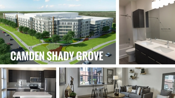 Camden Shady Grove In Washington Dc Area Opens Early 2017