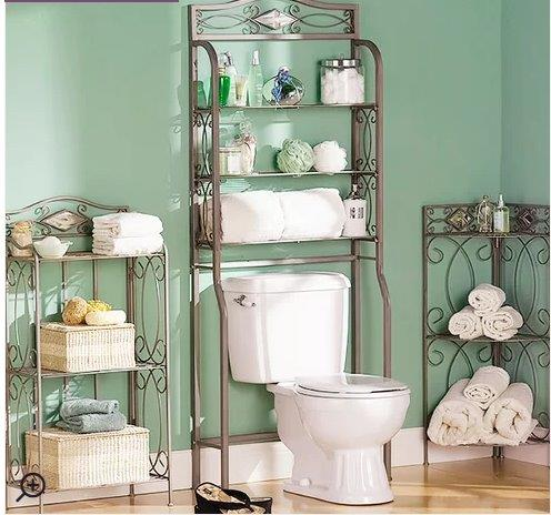 Photo courtesy of Wayfair & Bathroom Storage Accessories for Apartment Living All Under $100