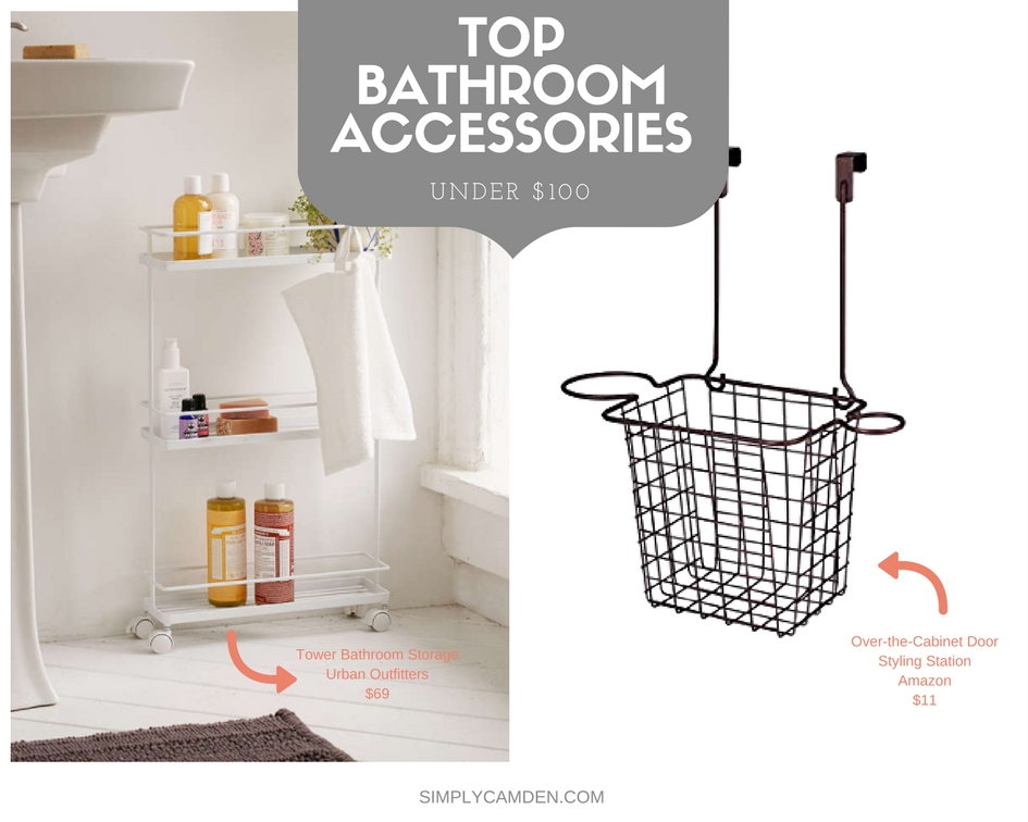 Bathroom Storage Accessories Perfectly Prepped Hair Accessories Organizer Bathroom Organizers