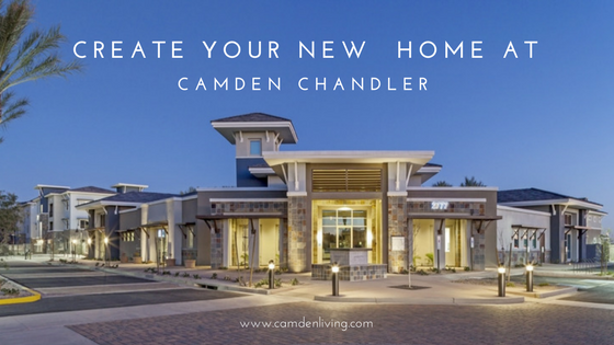Create Your New Home At Camden Chandler