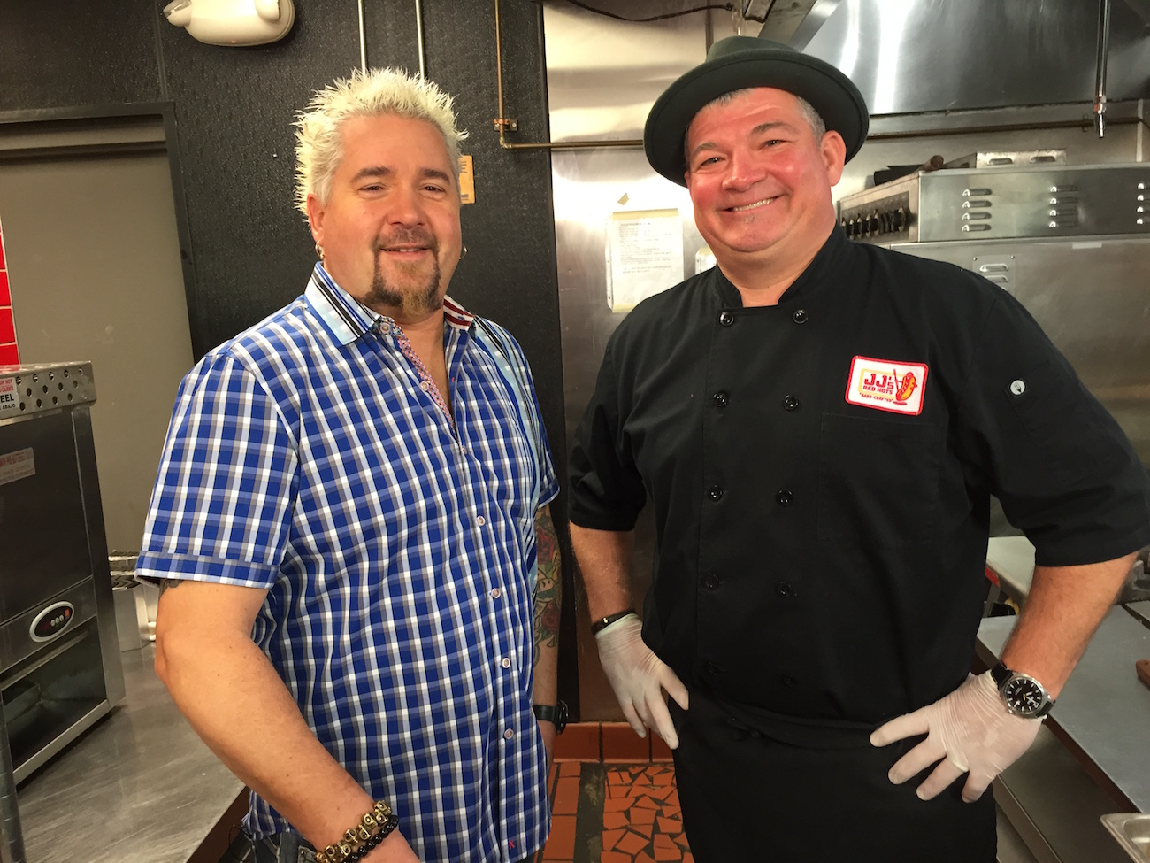 http://www.charlottefive.com/guy-fieri-diners-drive-ins-dives-came-jjs-red-hots-week/