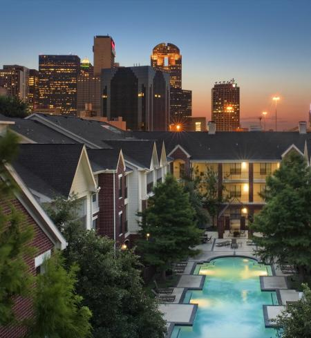 Camden Farmers Market Apartments in Dallas, Texas