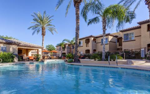 Camden Legacy apartments in Scottsdale, Arizona.