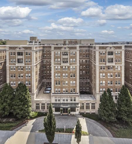 Camden Roosevelt Apartments near Adams Morgan in Northwest Washington DC