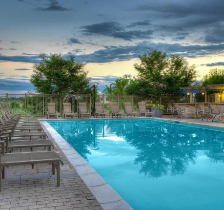 Pool at Camden Belleview Station Apartments Denver Colorado