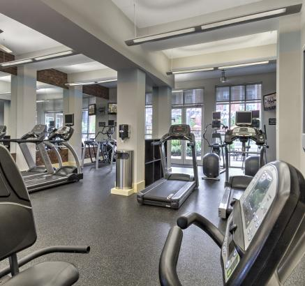 Fitness Center at Camden College Park Apartments in College Park, Maryland