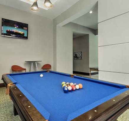 Game Room at Camden College Park Apartments in College Park, Maryland