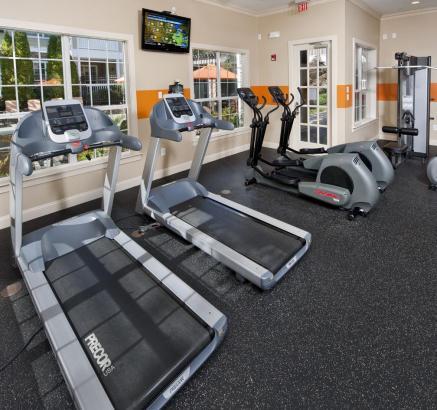 Camden Creekstone Apartments Fitness Center