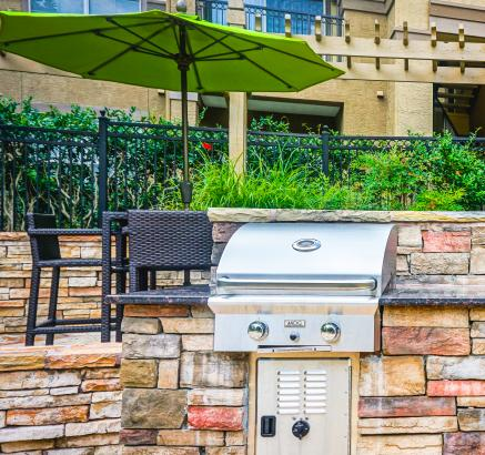 Camden Dunwoody Apartments Outdoor Grill