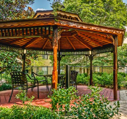 Camden Dunwoody Apartments Gazebo