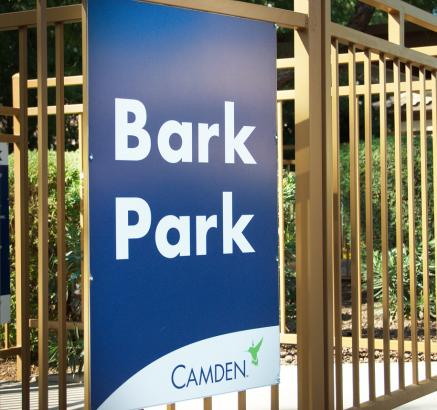 Dog Park at Camden Foxcroft Apartments in Charlotte, North Carolina