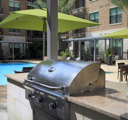 Grills at Camden Lamar Heights Apartments in Austin, Texas
