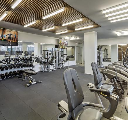 Cool Fitness Center At Camden Noma Apartments In Washington Dc With Apartments  Near Chinatown Dc