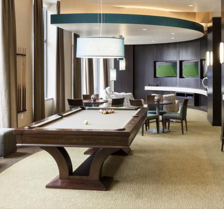 Great Billiards Lounge At Camden Noma Apartments In Washington Dc With Apartments  Near Chinatown Dc