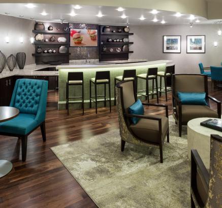 Resident Lounge at Camden NoMa Apartments in Washington DC