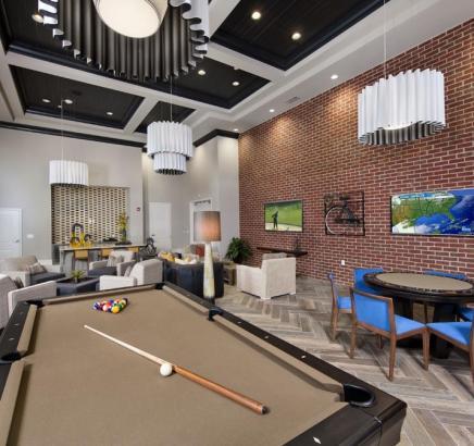 Camden Paces Buckhead Apartments in Atlanta, GA clubhouse