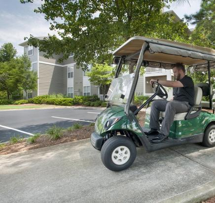 Camden Peachtree City Apartments Golf Cart Path