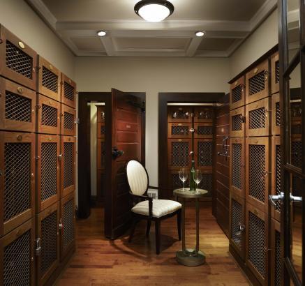 Wine Locker at Camden Roosevelt Apartments in Washington, DC metro U Street Corridor near DuPont Circle