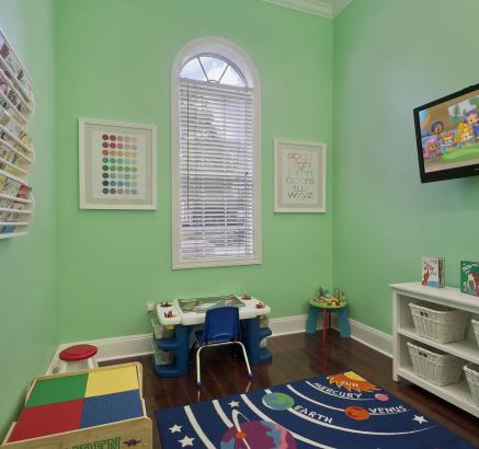 Child play room at Camden Stonecrest Apartments in Charlotte, North Carolina
