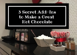 3 Secret Add-Ins to Make a Great Hot Chocolate