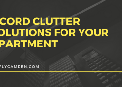 4 Cord Clutter Solutions For Your Apartment