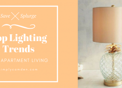 top lighting trends for apartment living