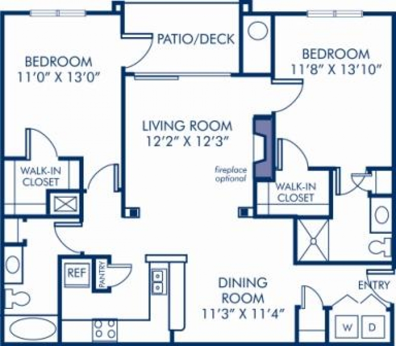 1 2 3 bedroom apartments in laurel md camden russett - 2 bedroom apartments in maryland ...