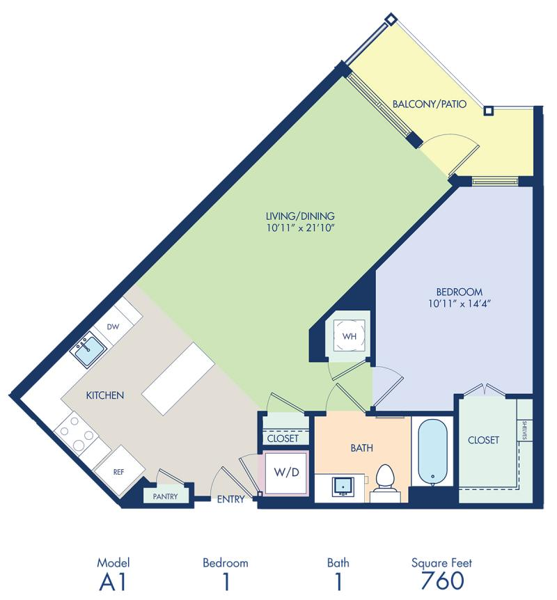 Studio 1 2 Amp 3 Bedroom Apartments In Rockville Md