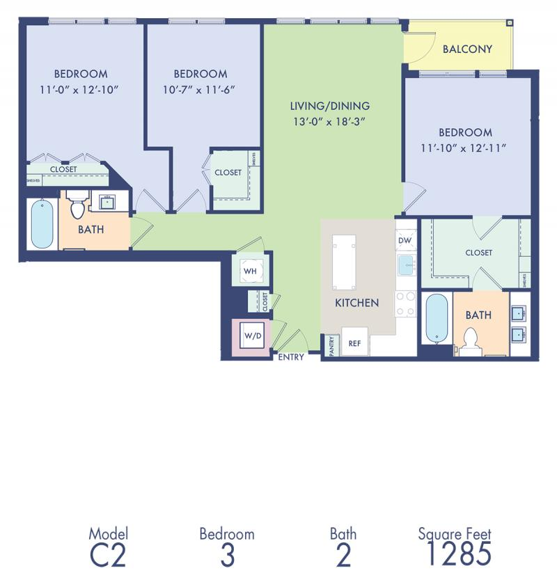 2 Bedroom Apartments In Md: Studio, 1, 2 & 3 Bedroom Apartments In Rockville, MD
