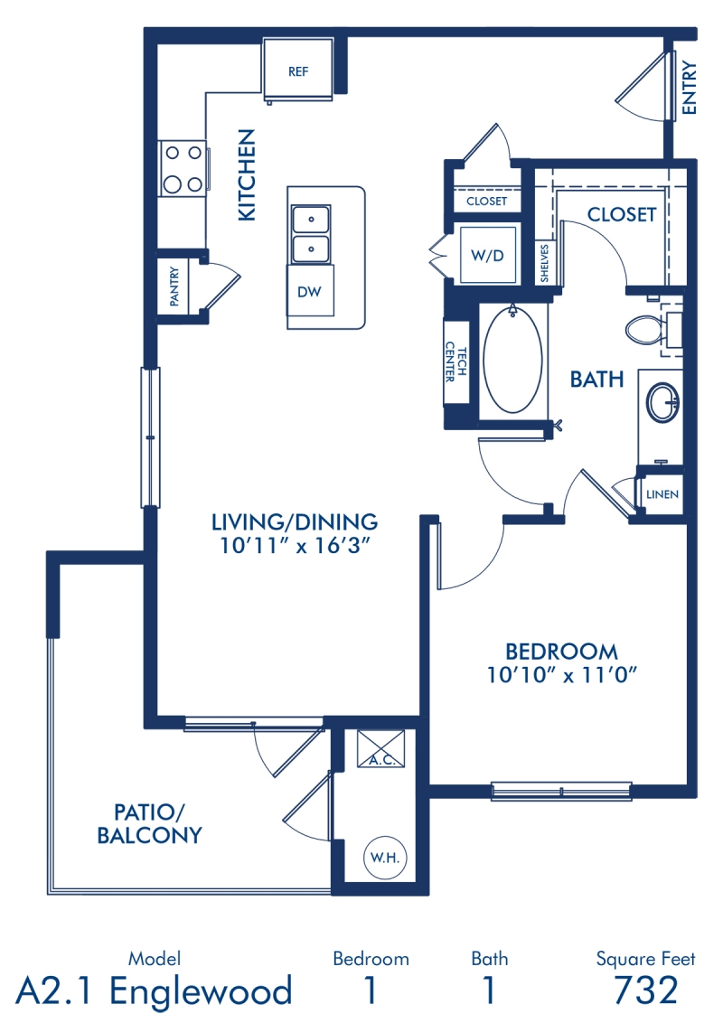 Studio 1 2 Bedroom Apartments In Lone Tree Co Camden Lincoln Station