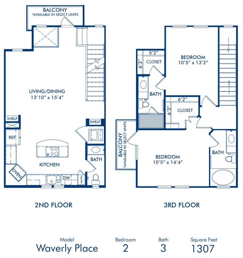 Waverly Place Townhouse: 1, 2 & 3 Bedroom Apartments In Dallas, TX