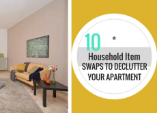 10 Household Item Swaps to Declutter Your Apartment