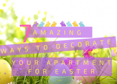 Decorate your apartment for Easter